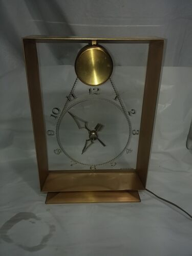 "Jefferson Electric ""Suspense"" Model Mystery Clock"