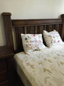 Anqtique Style Queen Size Bed (with two bedstands and mattress) Sydney City Inner Sydney Preview