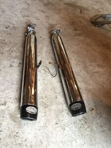 "Exhaust LA Choppers 1""3/4 universel"