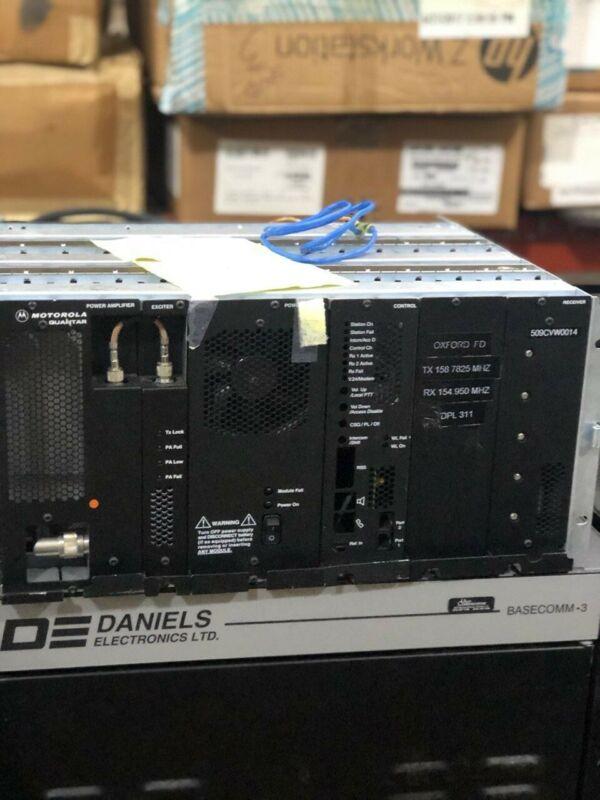 Motorola Quantar 25 Watt Repeater Model #T5365A