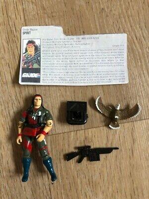 GI Joe/ Cobra/ Action Force Spirit UK exclusive tracker complete Rare figure