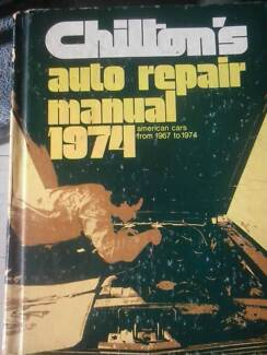 AMERICAN CAR AUTO REPAIR MANUAL 1967 to 1974 Shelley Canning Area Preview
