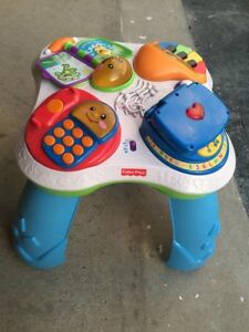 Children playing table nice music kids fun and loves