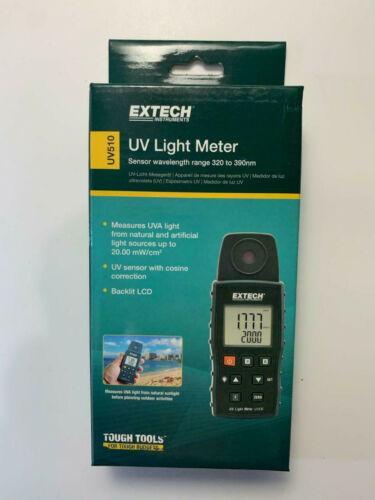 Extech UV510 Ultra Light Violet meter New in Box