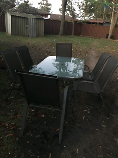 Out door dining setting