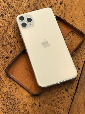 Apple iPhone 11 Pro Max - 512GB - Silver (Factory Unlocked) AppleCare+