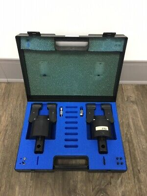 Instron At302 2kn 450 Lb Side Acting Pneumatic Action Grip Set Tensile Tester