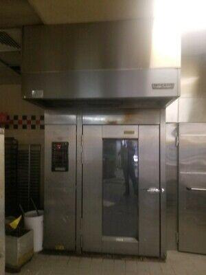 Hobart Hba2g Double Rotating Rack Gas Bakery Restaurant Oven