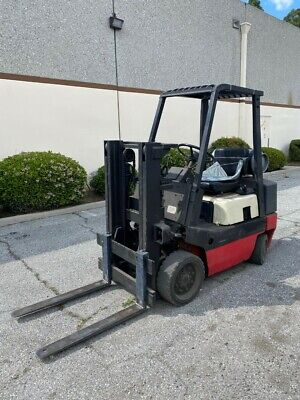 Forklift Nissan Cpf02a20v 4000lb Capacity 82 Inch Max Lift Height Propane Gas
