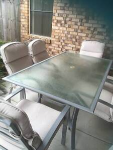 7 piece outdoor dining setting Bli Bli Maroochydore Area Preview