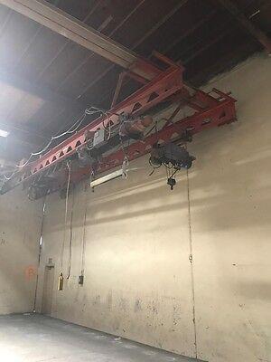 Industrial Overhead Cranes 1-2 Ton Capacity