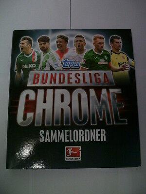TOPPS Bundesliga Chrome Saison 2013/2014 Sammelordner/Sammelkarten (Fußball-karte Ordner)