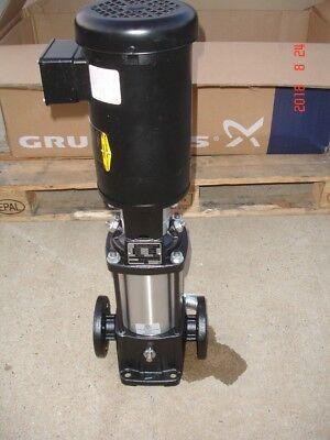 Grundfos Vertical Multistage Inline Waterfluid Pump Cr3-12a-fgj-a-e-hqqe New