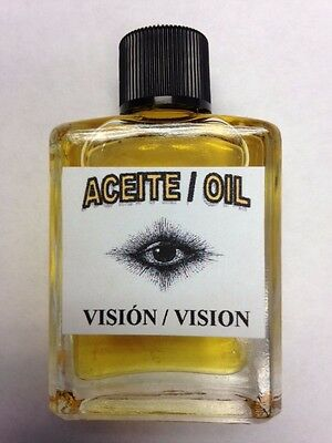 MYSTICAL / SPIRITUAL OIL FOR SPELLS & ANOINTING 1/2 OZ FOR VISION / SACRED SIGHT
