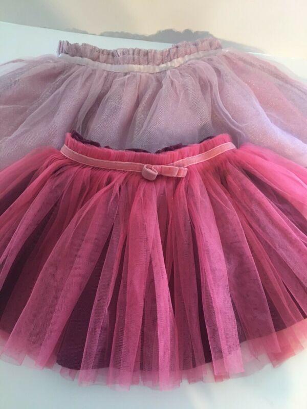 Healthtex, Cherokee (2) Girls Tulle Skirt - Pink, Maroon Size 3T