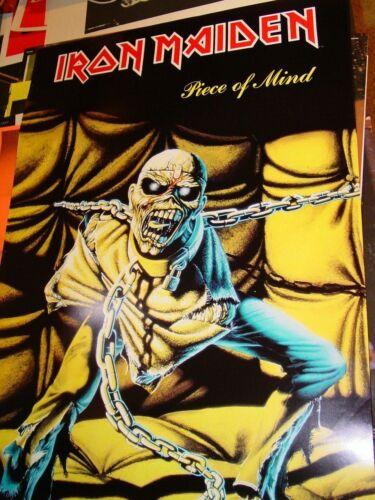 IRON MAIDEN VINTAGE 1983 83 PIECE OF MIND PROMOTIONAL EDDIE POSTER -NICE!