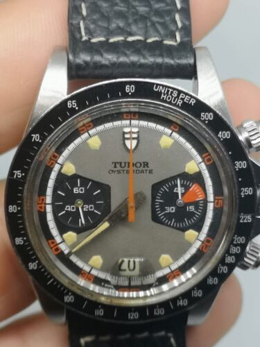 Vintage TUDOR Monte Carlo 7031/0 Chronograph Manual Wind 1971 Swiss Made - watch picture 1