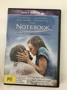 The Notebook and Pride and Prejudice DVDs
