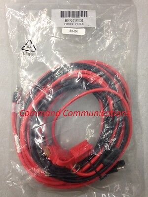 New Motorola Mobile Radio Power Cable Xtl1500 2500 5000 Spectra Apx Xpr Hkn4192