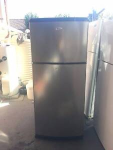 stainless steel 410 liter whirlpool fridge , can delivery extra f Mont Albert Whitehorse Area Preview