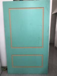 1200 x 2040 Solid Entrance Door