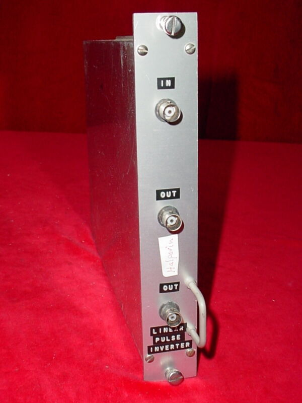 Linear Pulse Inverter NIM BIN Module Plug-In Tennelec Ortec EG&G