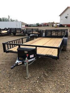 2017 Diamond C 2PSA 14' x 83 Utility Trailer