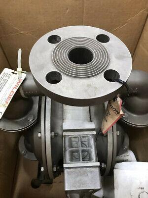 Wilden H400 High Pressure Stainless Steel Diaphragm Pump - Santoprene Diaphragms