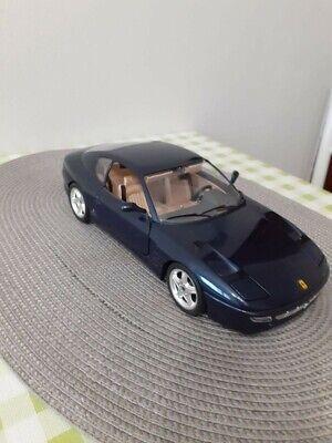 Burago Ferrari 456 GT 1992 1:18 Modellino Auto usato come nuovo