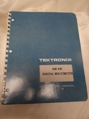 Tektronix Dm501 Digital Multimeter Instruction Manual