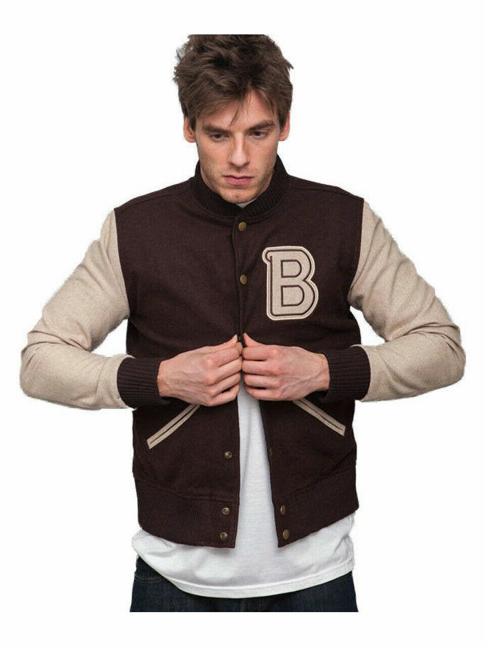 Hotline Miami Varsity Brown Jacket