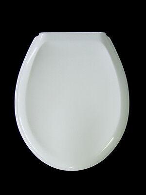 WC Sitz aus Duroplast weiss