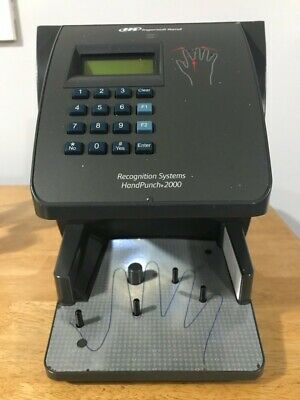 Novatime Hp-2000 Biometric Hand Punch Time Clock