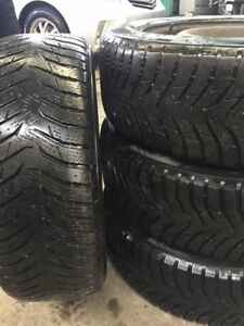 Winter tires on rims 205 60 16