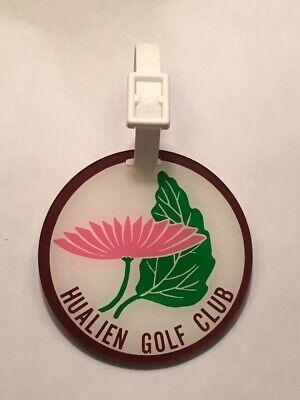 Vintage Rare Hualien Golf Club Golf Bag Tag - Hualien City, Taiwan - A Beauty!