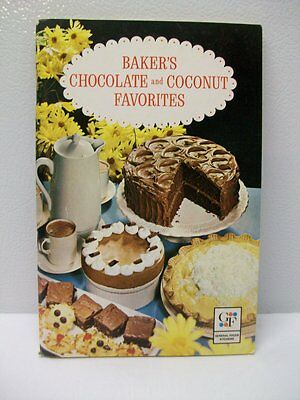 Vintage Baker's Chocolate and Coconut Favorites - 1965
