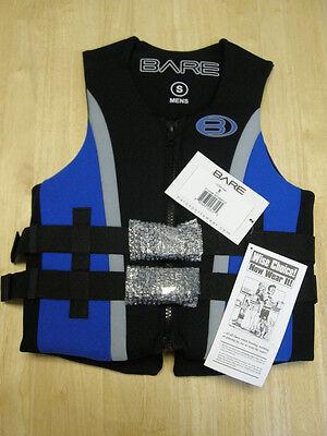 BARE Life Jacket All Neoprene Size Men's SM Blue