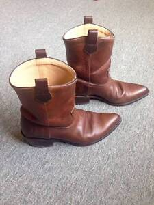 FRYE BILLY SHORT BOOTS (used) (Size = Mens 9 1/2) Toorak Stonnington Area Preview