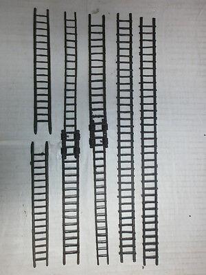 Konvolut 6 Merten Kunststoff Rohlinge Leitern für Ritter zu 4cm