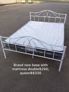 Brand new metal bed frame with mattress Single190double290,queen330 Glen Iris Boroondara Area Preview