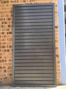 Aluminium Slat Panel 1800mm (H) x 1450mm (W)-Slate Grey Arndell Park Blacktown Area Preview