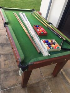 Billiard Table (small / family size) Greenvale Hume Area Preview