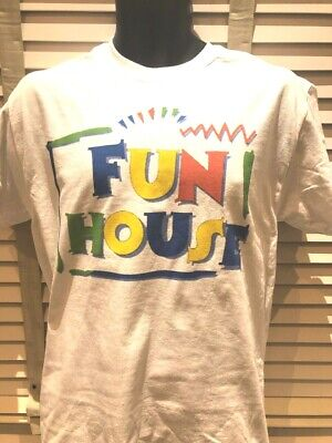 Fun House Inspired 80S 90S Tv Show Funny Retro Cult Film Movie Series T Shirt (80s 90s Halloween Movies)