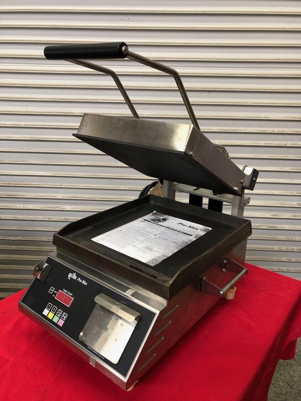 NEW Flat Panini Sandwich Press Tortilla Grill 120V NSF Star