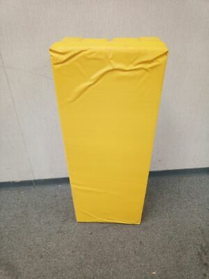 Vestil V-pad-i-38-y 36 In H 14 In W Vinyl I-beam Yellow Column Protector
