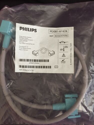 Philips M3081-61626 IntelliVue Patient Monitoring Link Cable MSL Connectors