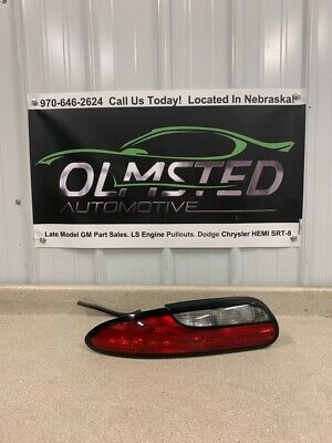 93 97 Chevy Camaro SS LT1 Driver Side Taillight Left OEM GM Tail Light LH Lamp