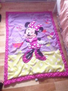 Minnie mouse douillette lit d appoint