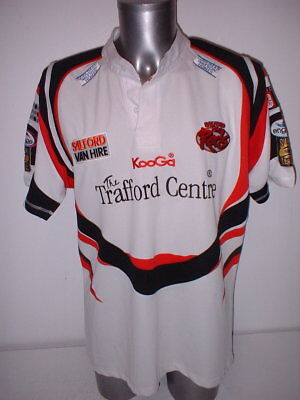 1b2e23ab0b2 Salford City Reds Kooga Adult XL Rugby League Shirt Jersey Top Vintage Away