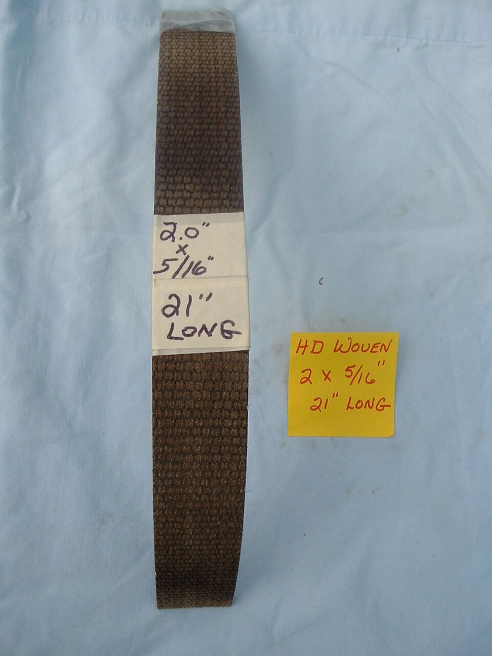 Woven Brake Lining Material : Nos heavy duty woven brake shoe lining quot wide
